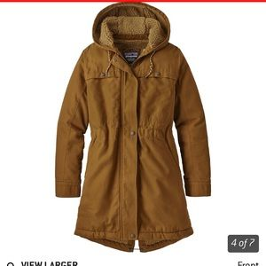 Patagonia insulated parka